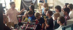 Grow a Generation Tour of Astrobotics