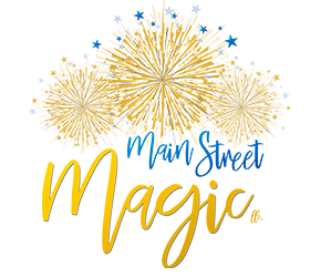 The logo of Main Street Magic, LLC. a no-fee travel agency specializing in Disney vacation planning   Authorized Disney Vacation Planner