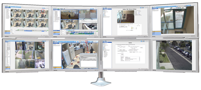 exacqVision video monitoring