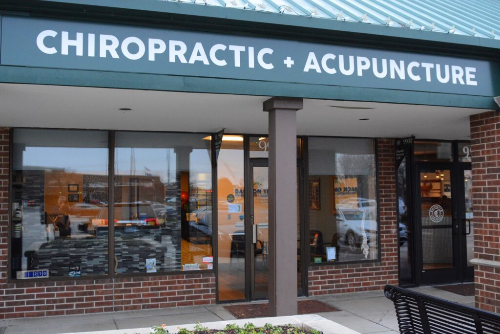 Exterior Back On Track Chiropractic and Acupuncture Overland Park