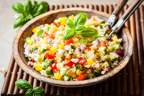 quinoa salad - top gyms in San Diego