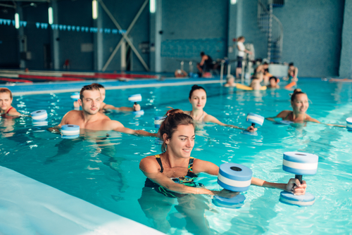 What are the benefits of water exercise
