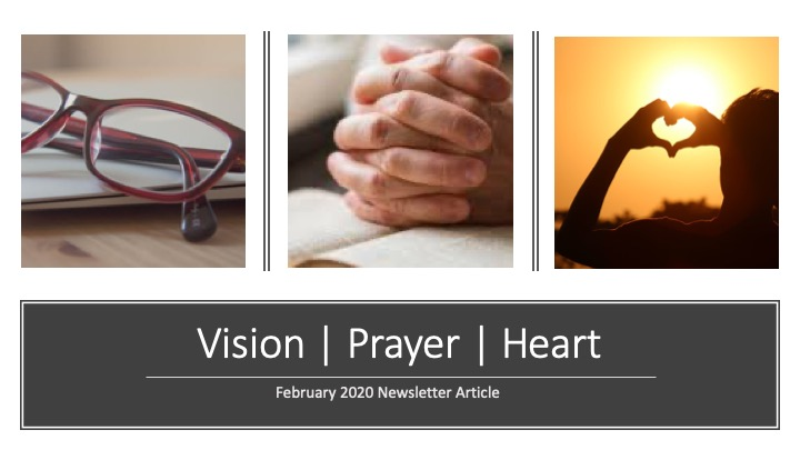 Vision Prayer Heart