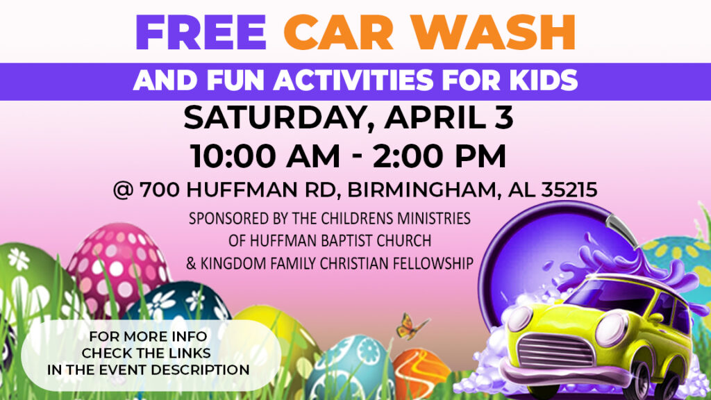 Easter Car Wash 2021
