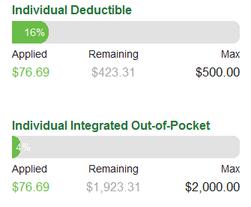Individual Deductible $76