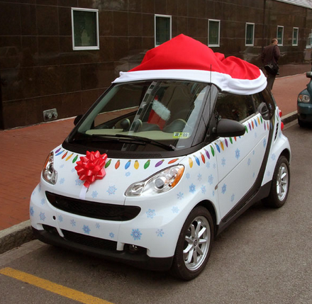 Christmas Car Decorations.Best Christmas Car Decorations Of 2013