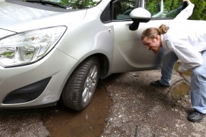 Does car insurance cover pothole damage?