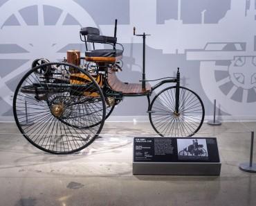 Wood 1886 Benz Patent Motorwagen
