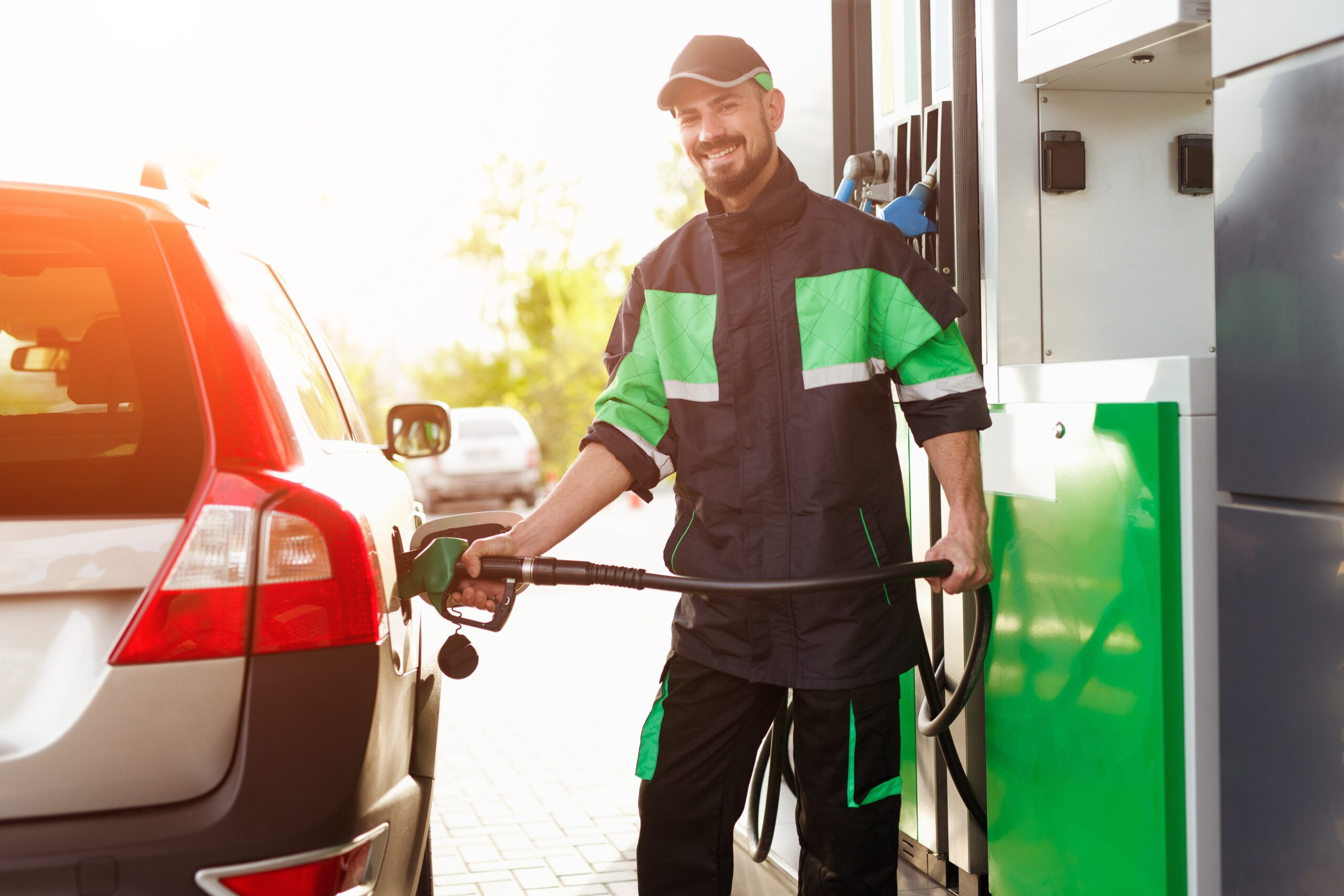 how to pump gas safely