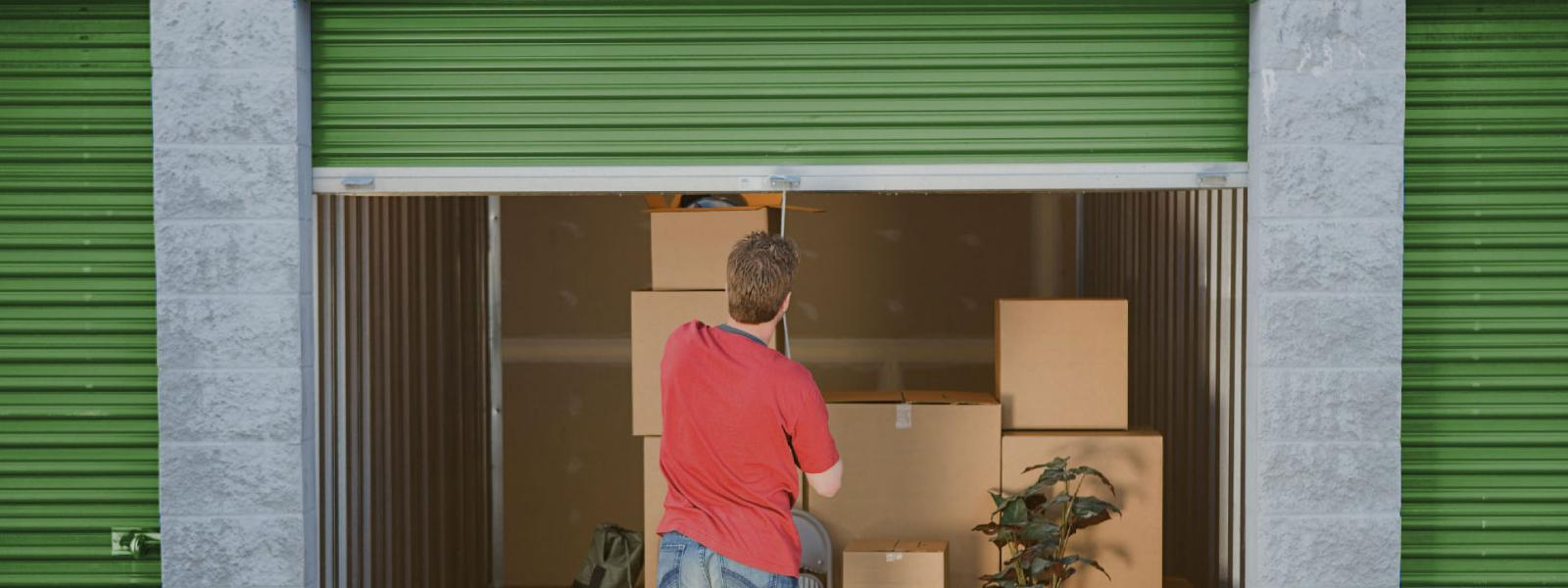 storage unit packing tips