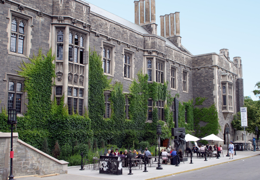 Hart House on the U of T campus.
