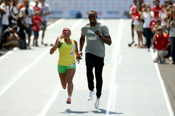 Terezinha Guilhermina Usain Bolt