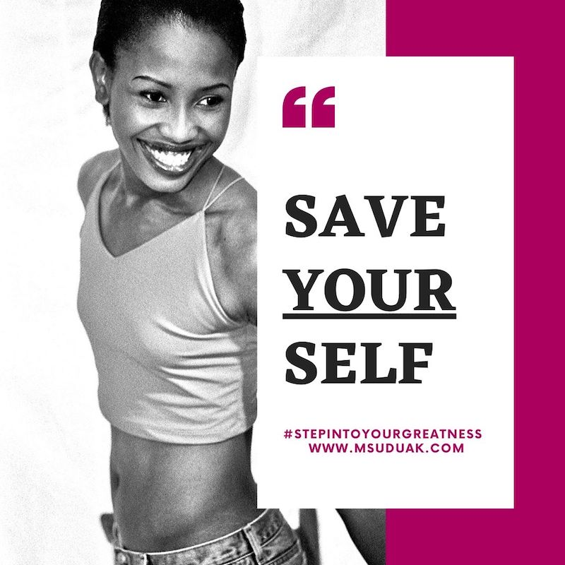 Honor Your Commitments to Yourself.