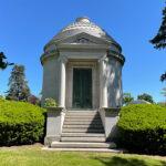 Mausoleum in Woodlawn Cemetery