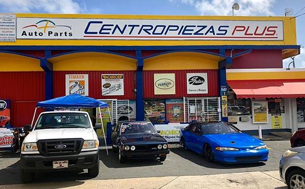 Tienda Centropiezas Plus Canovanas Puerto Rico, auto parts, logo, localidad, tienda