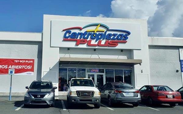 Centropiezas Plus Carolina, Puerto Rico, tienda, localidad, ubicación