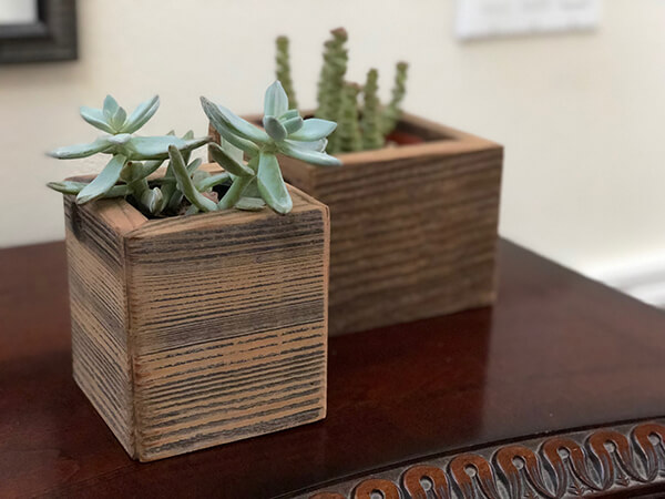 rustic planters, wood planter, barnwood planter, wall wood planter box, farm wood planter, barnwood office planter, rustic wood wall planter, rustic decor, small wood planter, succulents