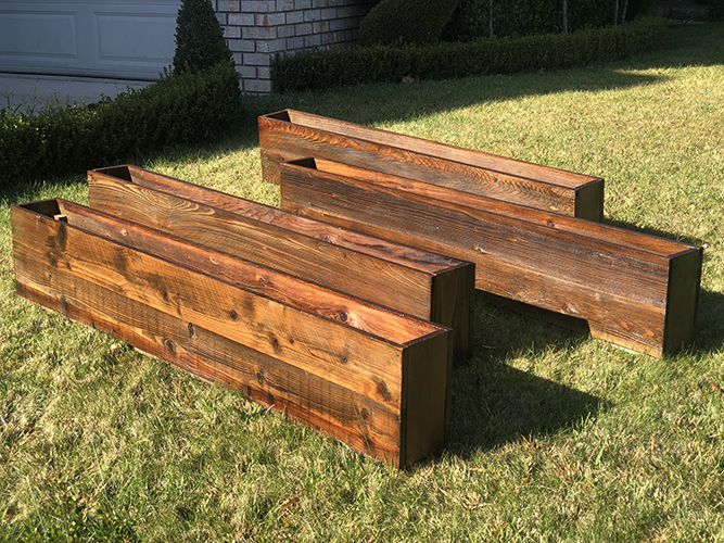 rustic planters, Rustic wood planters, square barn wood planters, barn wood planter, rustic office planter, galvanixed pots with ferns, custom wall planters, wood wall planters