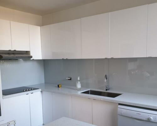 Grey Painted Splashback