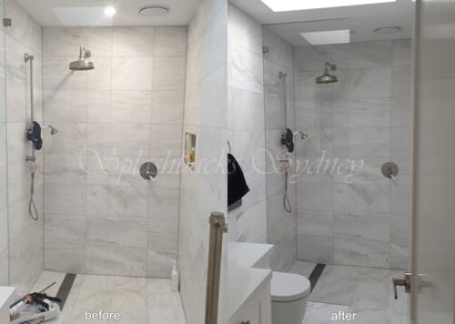 frameless shower 9