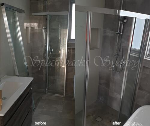 full framed slinding shower screen