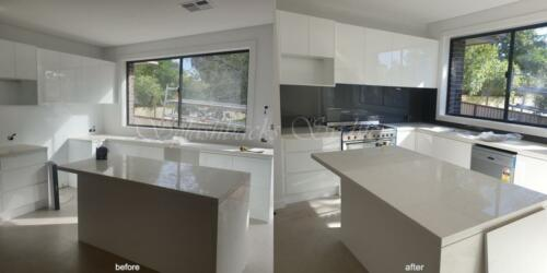 painted glass splashbacks