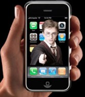 Harry Potter iphone app photo