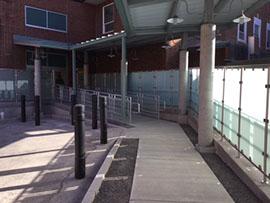 Crouse Health Staff Drop Off