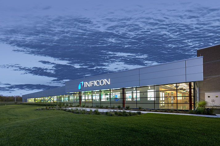 Inficon Building Exterior