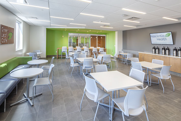 Nascentia Health Headquarters Cafeteria