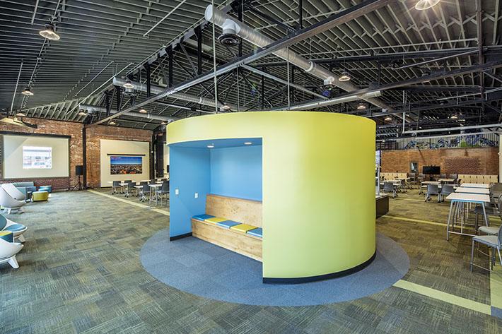 thINCubator Interior Space