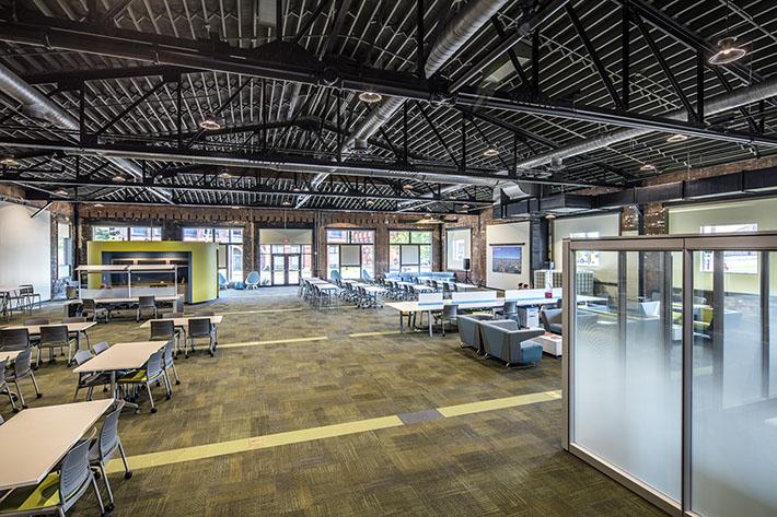 thINCubator Workspace Interior
