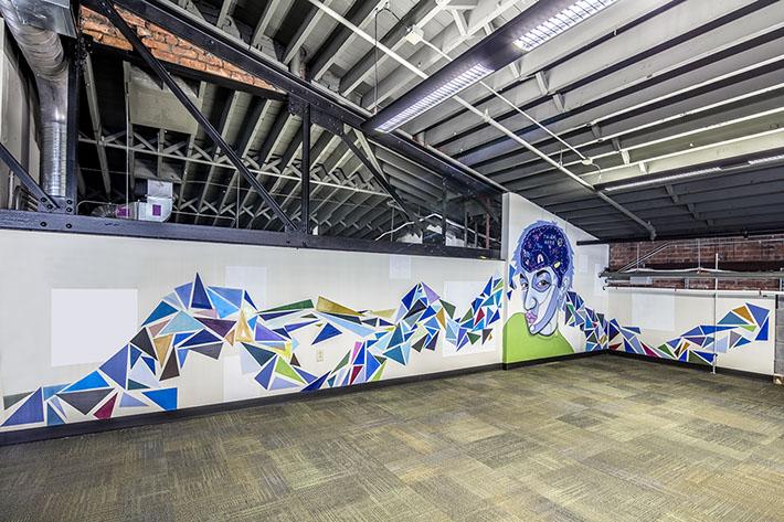 thINCubator Mural Wall