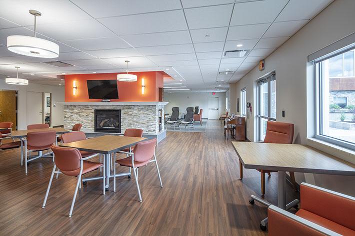 Nascentia Health Headquarters Interior Room