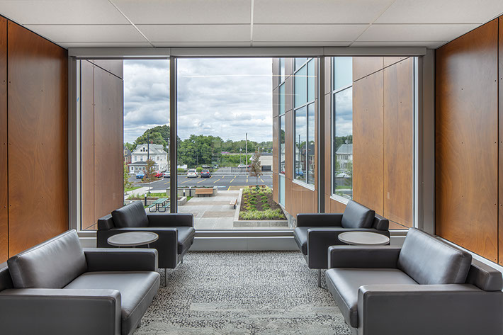 Nascentia Health Headquarters Waiting Area