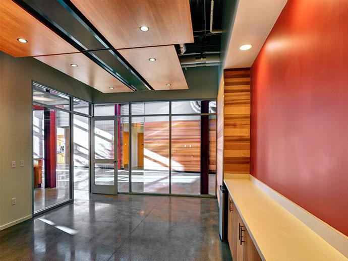 Fulton Companies Building - Hallway Interior