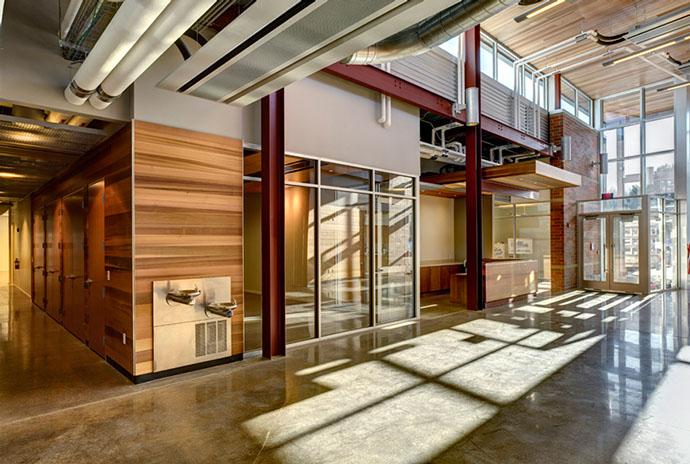 Fulton Companies Building - Interior Hall