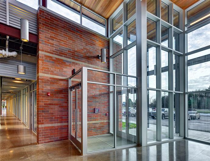 Fulton Companies Building - Interior Windows and Doors