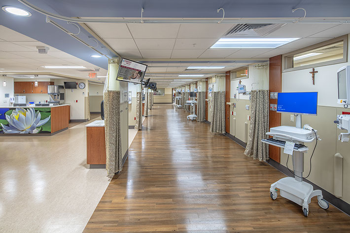 St. Joseph's Health Hallway