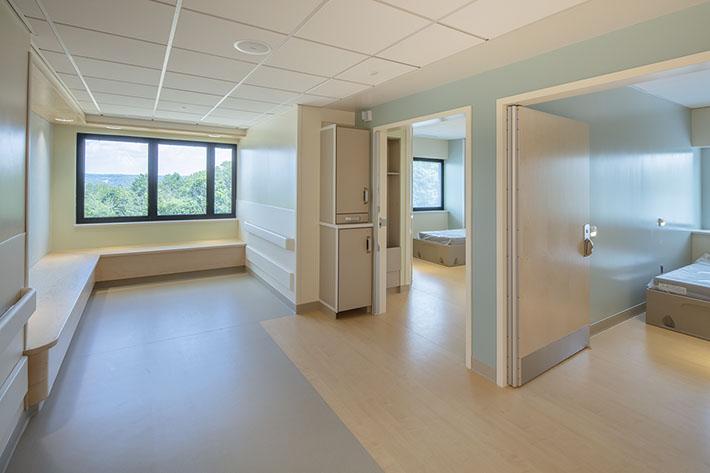 Cayuga Medical Center Rooms