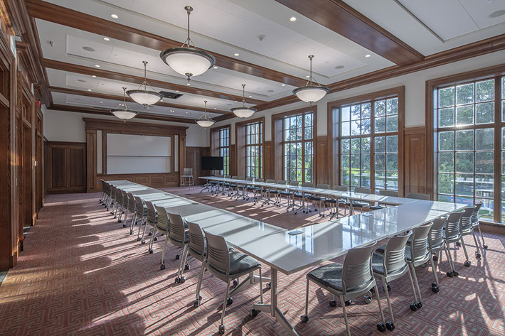 Colgate University Benton Hall Classroom