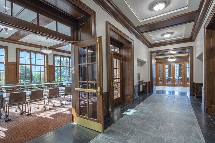 Colgate University Benton Hall Hallway