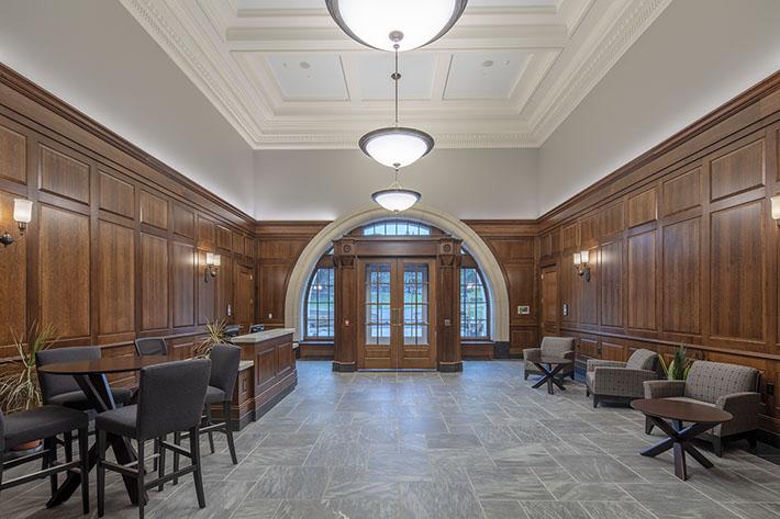 Colgate University Benton Hall Foyer