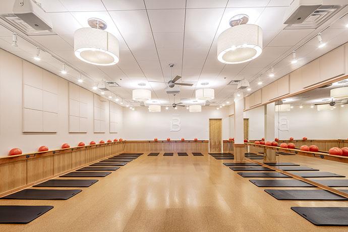 Barre3 Fitness Studio Room