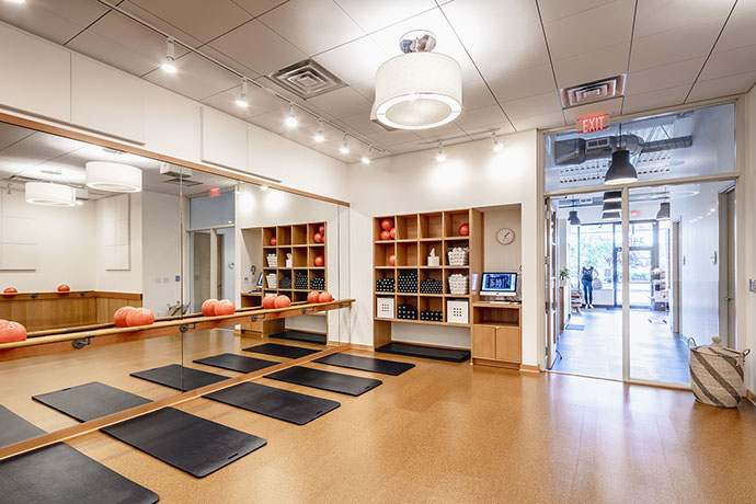 Barre3 Fitness Room