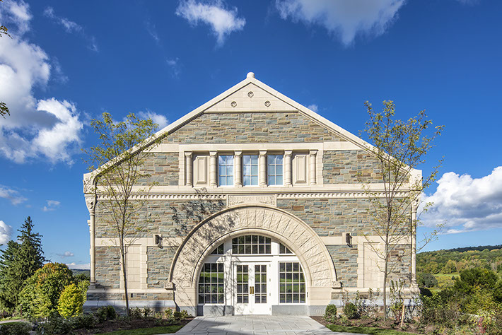 Colgate University Benton Hall Exterior