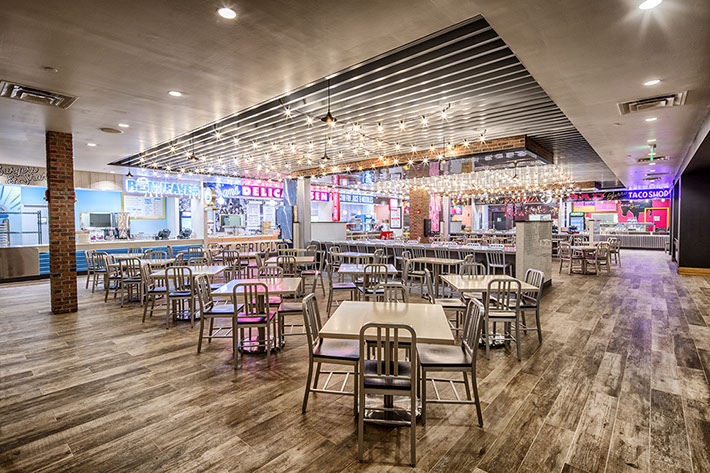 Turning Stone Resort Food Hall - Dining Area