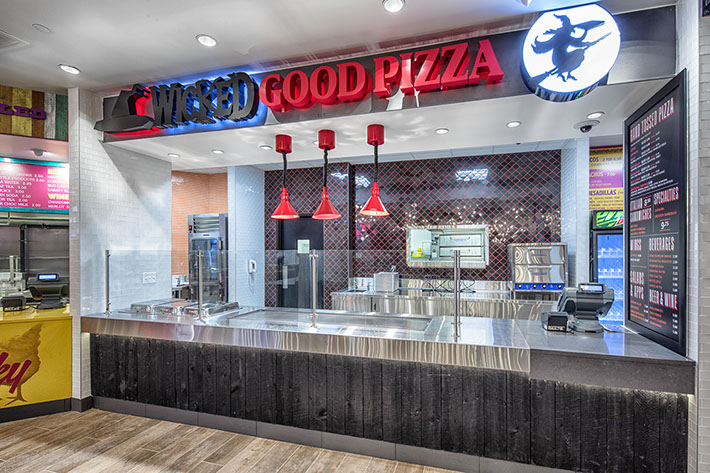 Turning Stone Resort Food Hall - Pizza