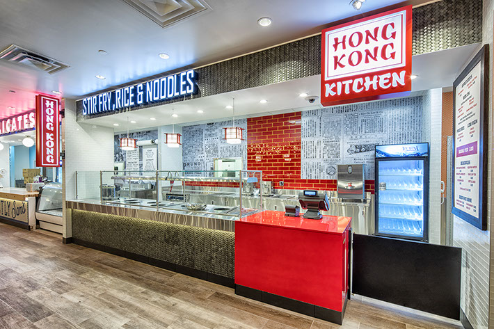 Turning Stone Resort Food Hall - Hong Kong Kitchen