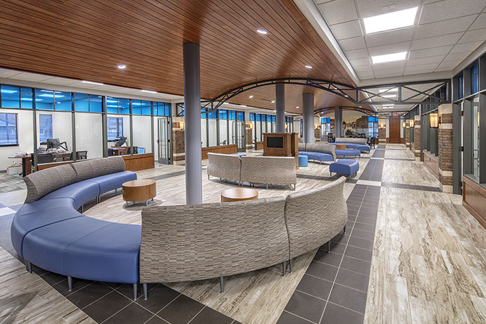 Empower Federal Credit Union Seating Area